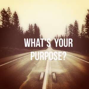 finding your purpose?